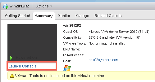 Creating and Modifying Virtual Machines - vmWIKI