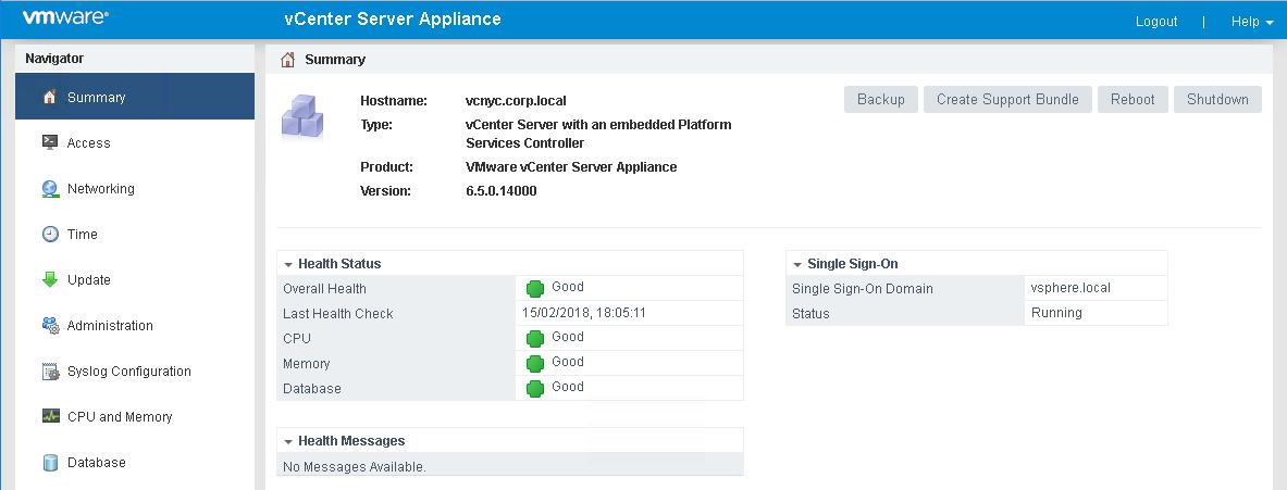 Deploying VMware vCenter Server Appliance 6 (VCSA) - vmWIKI