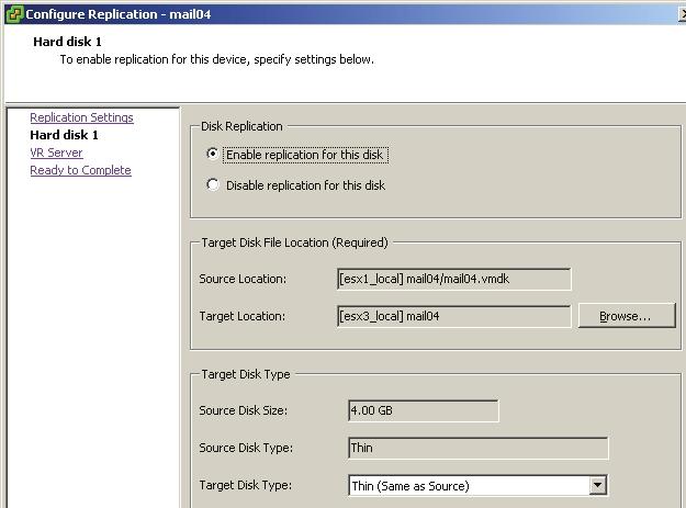 Configuring vSphere Replication - vmWIKI
