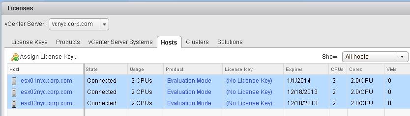 vmware 5.5 install license key