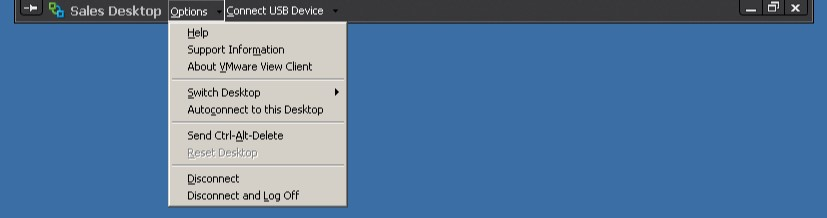 View User Experience Settings - vmWIKI