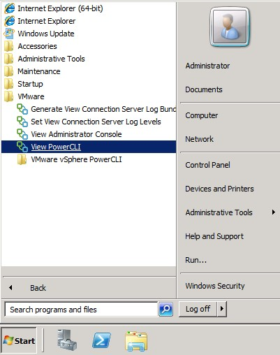 Managing VMware View with PowerCLI - vmWIKI
