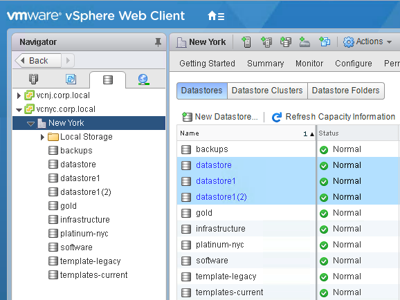 Configuring Storage (FC, iSCSI, NFS in vCenter 6) - vmWIKI