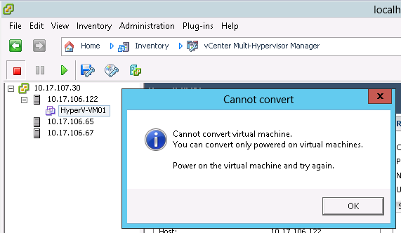 Multi-Hypervisor Management and VM Conversion – Time to stop